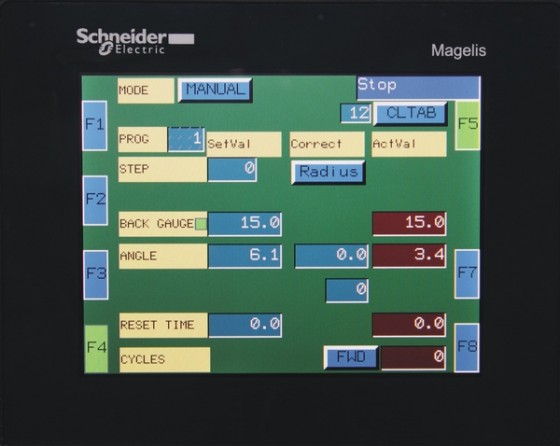Control system NC1A