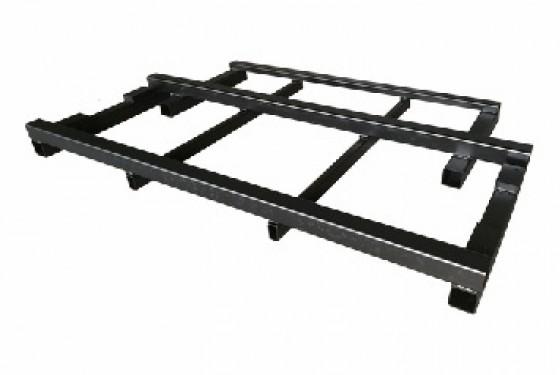 Welded frame for transport